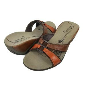 Merrell Womens Slip on Sandals Leather Slides 5m